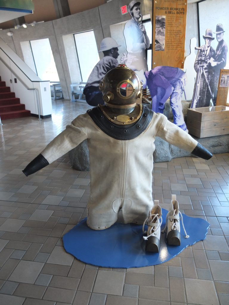 Deep Diving Suit at Grand Coulee Dam